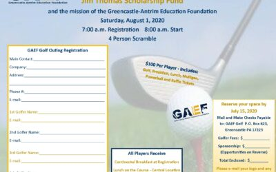 Annual Golf Outing – Mark Your Calendar