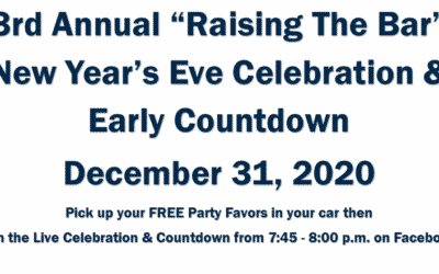 "3rd Annual ""Raising the Bar"" New Year's Eve Celebration"