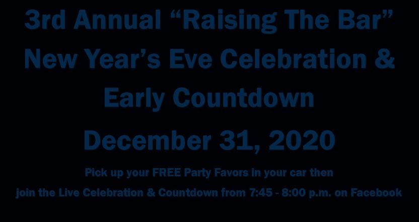 "3rd Annual ""Raising the Bar"" New Year's Eve Celebration"